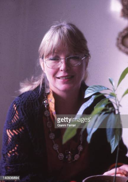 Close up of the French actress Marina Vlady 4th March 1980 Paris France