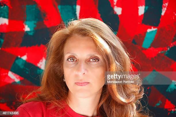 Close up of the italian art critic Martina Corgnati Torino 15th march 2012