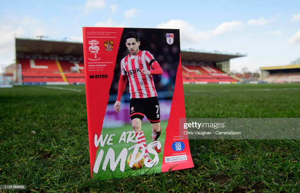 GBR: Lincoln City v Stevenage - Sky Bet League Two