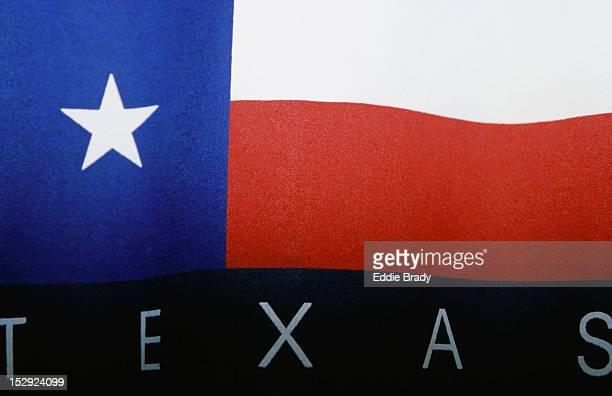 Close up of the Texas flag, San Antonio.