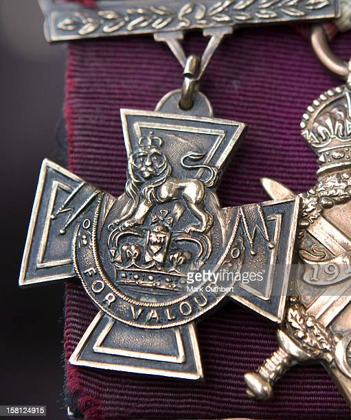 A Close Up Of The Victoria Cross Medal At The Victoria Cross And George Cross Association Reunion At St MartinInTheField London