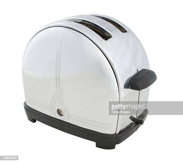 Close up of toaster