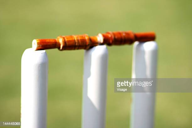 Close up of wickets