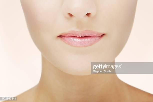 Close up of womans face