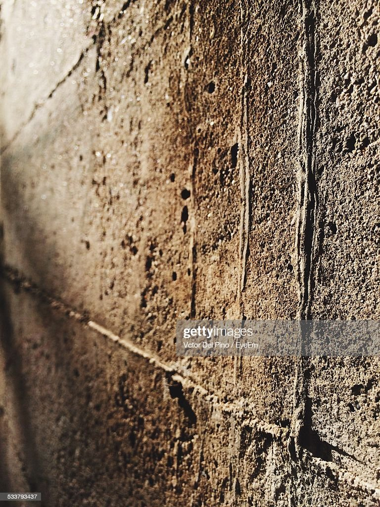Close Up On Concrete Wall : Foto stock