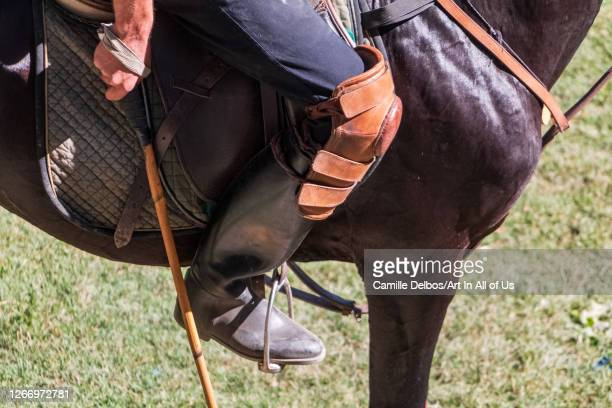 Close up on polo equipment on Mai 25 2016 in Chitral Khyber Pakhtunkhwa Pakistan