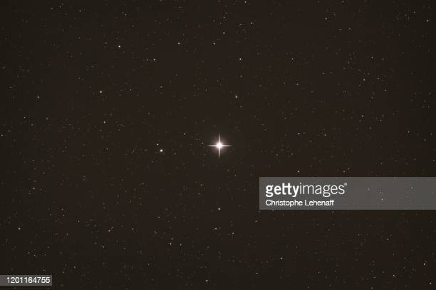 close up on the north star, polaris - north star stock pictures, royalty-free photos & images