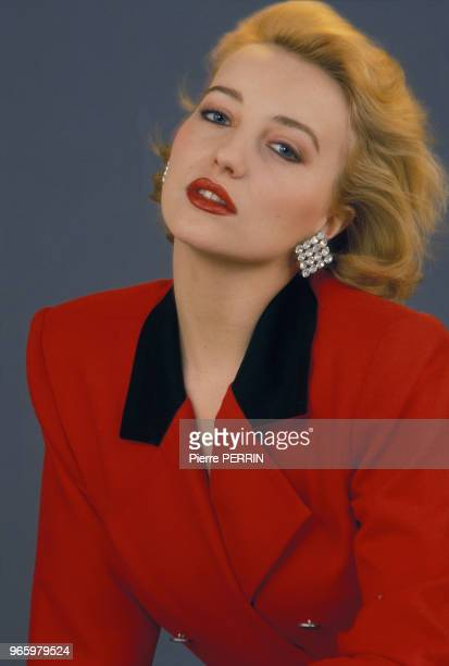 Close up Pauline Lafont actrice le l6 février 1985 en France