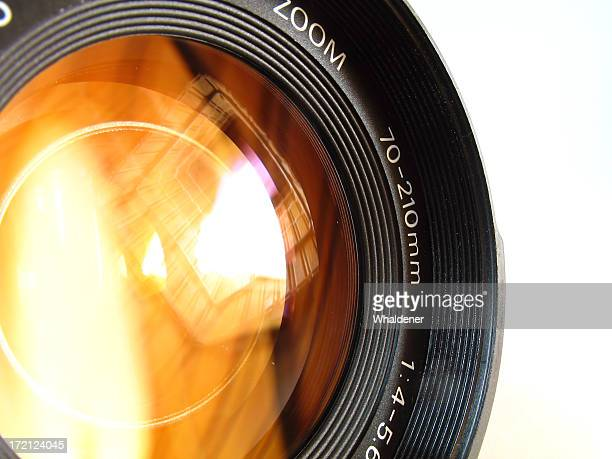 A close up photo of a camera lens