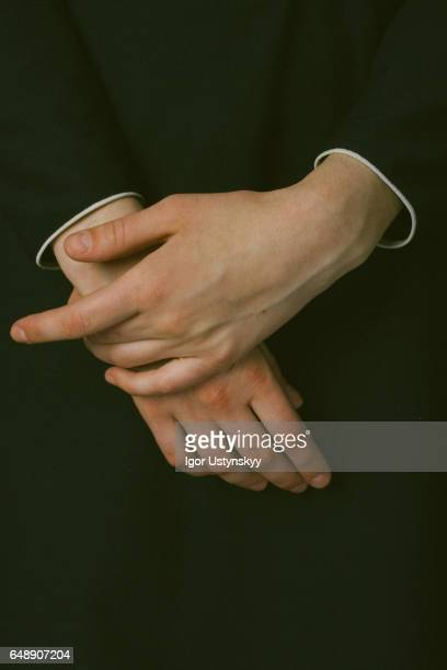 Close up photo of woman's hands