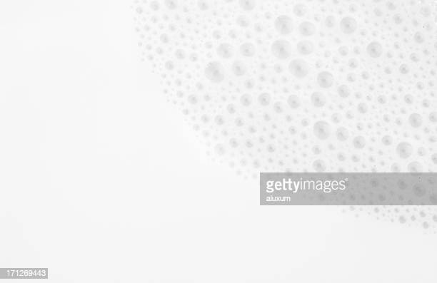 close up photograph of milk with bubbles - extreme close up stock pictures, royalty-free photos & images