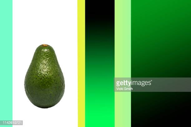 close up photography of a avocado - avocado stock pictures, royalty-free photos & images
