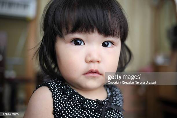 Close Up Portrait of a Baby
