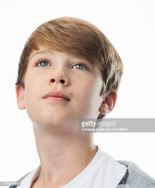 Close up portrait of boy (9-11)