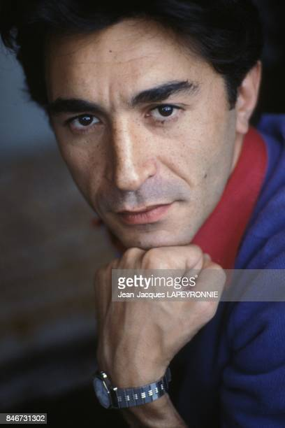Close up Richard Berry le 27 juillet 1983 a Paris France