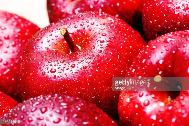 Close up shot of apples