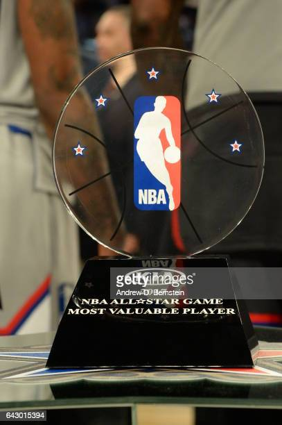 All Star Game Mvp Trophy Stock Photos And Pictures Getty