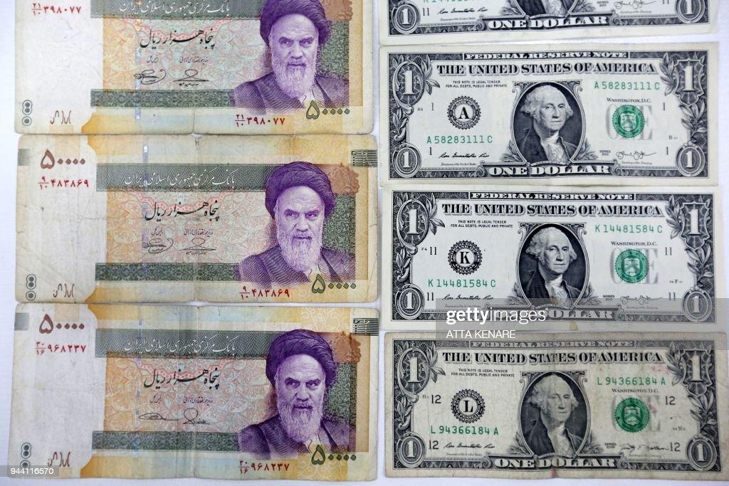 IRAN-POLITICS-CURRENCY : News Photo
