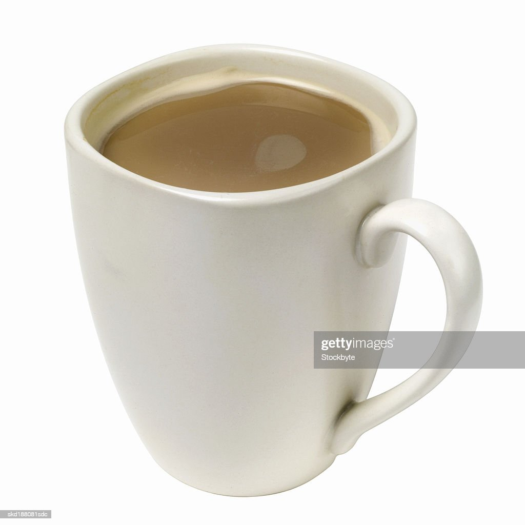 Close Up View Of A Mug Coffee Stock Photo