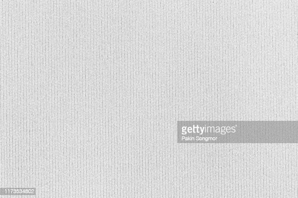 close up white fabric texture. textile background. - material stock-fotos und bilder