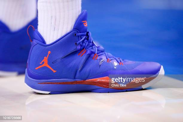 Close view of Los Angeles Clippers power forward Blake Griffin shoes during the Los Angeles Clippers 11592 victory over the San Antonio Spurs at the...