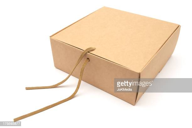Closed Cardboard Gift Box