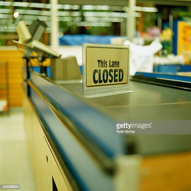 Closed Checkout Stand