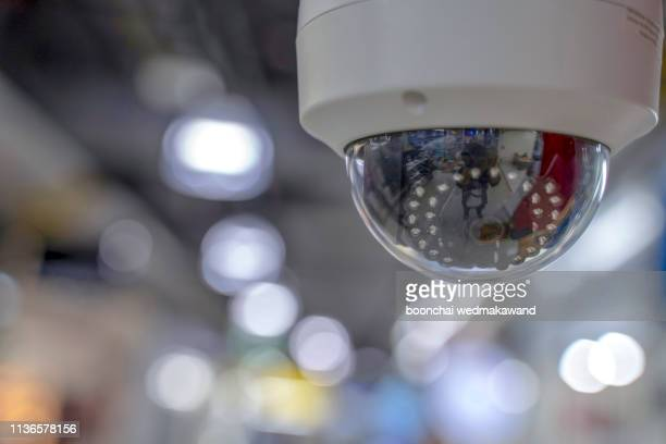 closed circuit camera multi-angle cctv system isolated from the background cipping part - business security camera stock pictures, royalty-free photos & images