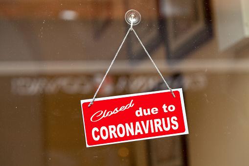 Closed due to coronavirus 1210927286