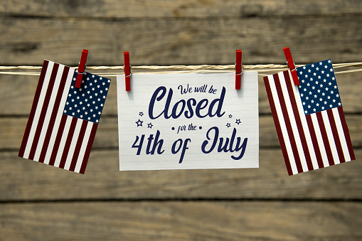Closed for the 4th of july 1156522613