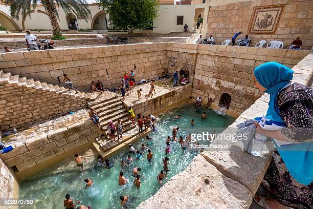 Closed for years because of water shortage in the source the famous Roman swimming pools in the medina of Gafsa were put back in functioning thanks...