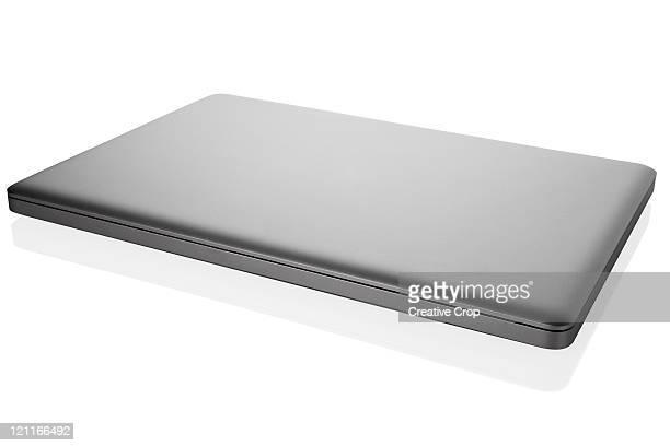 Closed laptop computer