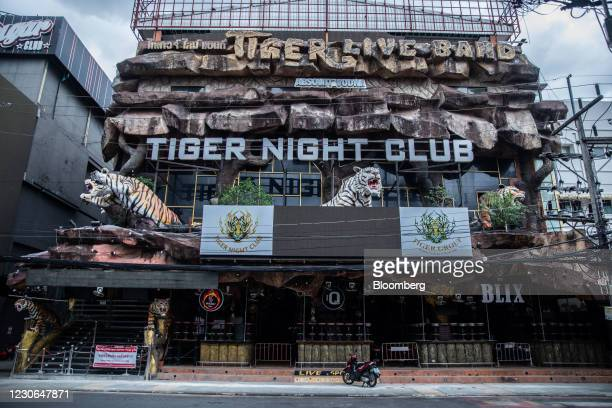 Closed night club at Bangla Road in Patong, Phuket, Thailand, on Saturday, Dec. 19, 2020. The tepid response to Thailands highly publicized reopening...