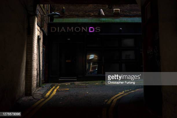 Closed nightclub in Newcastle as the localised lockdown comes into force on September 18, 2020 in Newcastle upon Tyne, United Kingdom. Since easing...