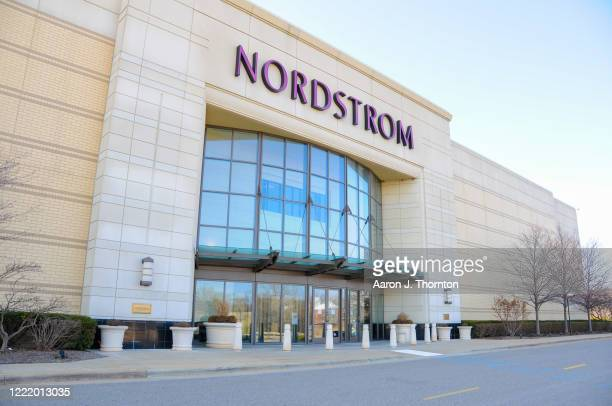 Closed Nordstrom's store is shown at Twelve Oaks Mall as the coronavirus pandemic continues on March 26, 2020 in Novi, Michigan. Michigan Governor...