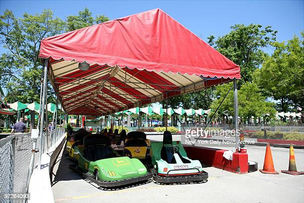 Closed rides owned by S and L Amusement of Harrison which owns three rides in Rye Playland Mind Scrambler Go Carts and Power Surge closed today...