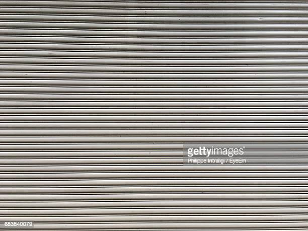 Closed Shutter Of Store
