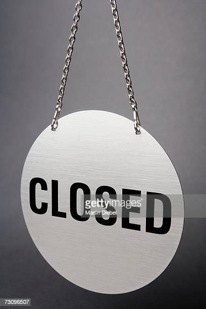 ?Closed? sign