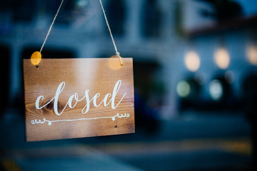 Closed Small Business 1020149320