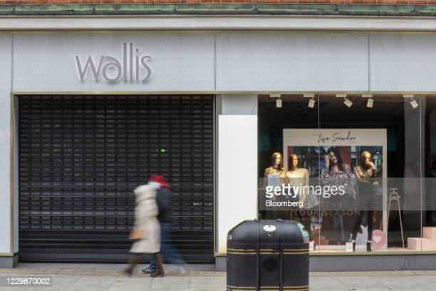 Closed Wallis clothing store, operated by Arcadia Group Ltd., on Oxford Street in central London, U.K., on Monday, Nov. 30, 2020. Philip...