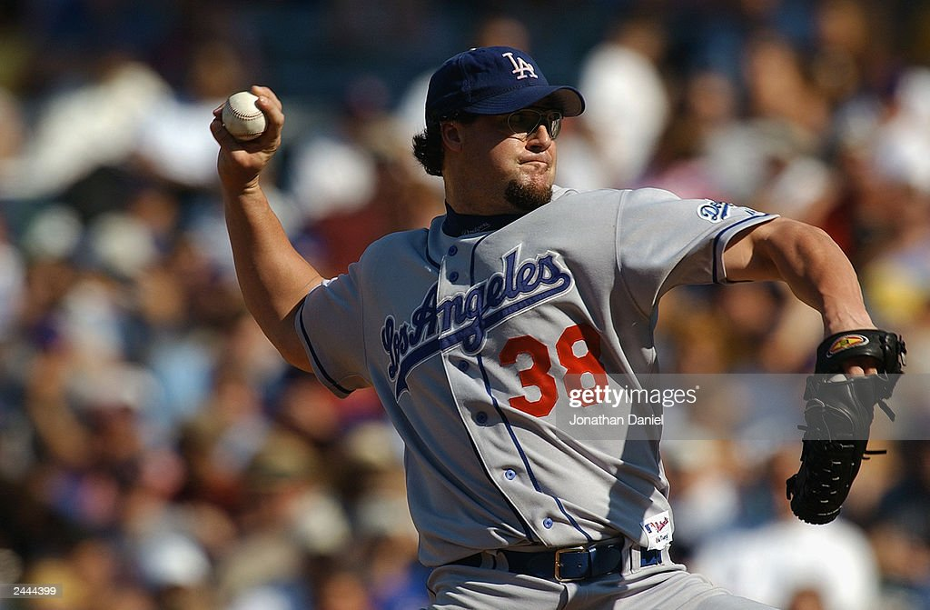 Gagne pitches ninth inning : News Photo