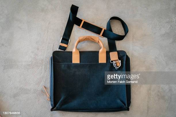 a closer look at a stylish bag in oslo, norway - crossbody bag stock pictures, royalty-free photos & images