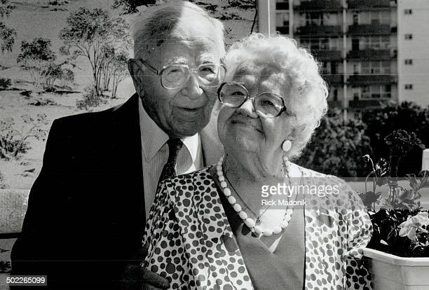 Closer than ever Michael and Theresa Maslowski celebrate their 70th anniversary today We were lucky we didn't have fights she says if we did I would...