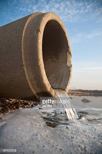 Kanalisationsabflüsse pipe