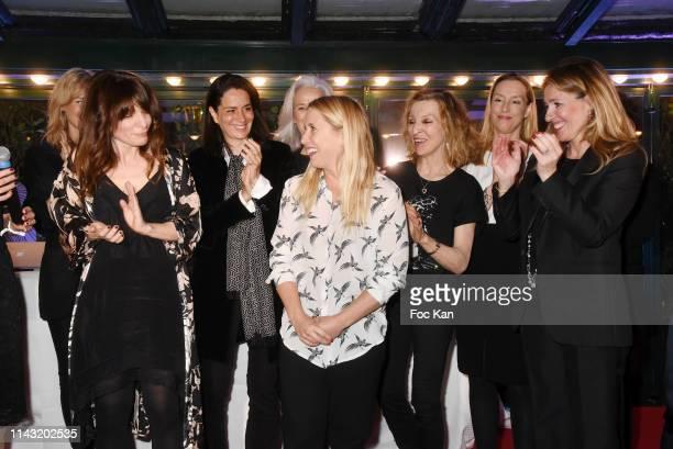 'Closerie des Lilas 2019' awarded writer Sarah Chiche for her book for 'Les Entenebres' Stephanie Janicot Andrea Bescond Emmanuelle de Boysson...
