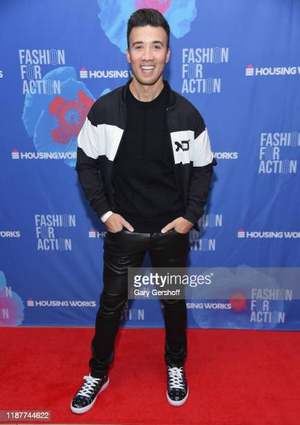 Closet curator stylist Dennis Kenney attends Housing Works' Fashion for Action on November 14 2019 in New York City