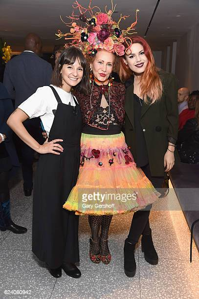 Closet curators Alyssa Coscarelli Patricia Fox and Luanna PerezGarreaud attends Housing Works' Fashion for Action 2016 at Freds at Barneys New York...