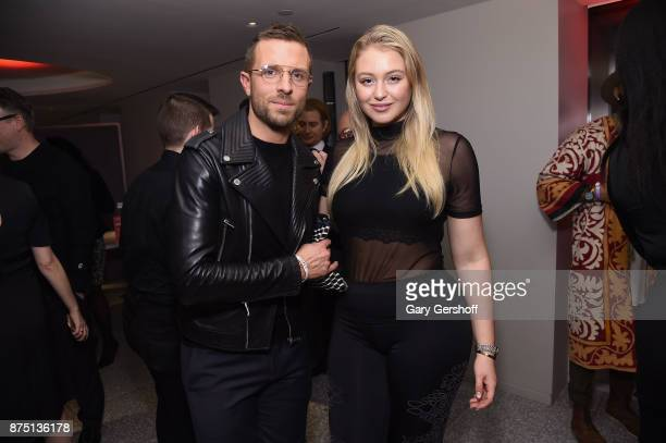 Closet Curators Preston Konrad and Iskra Lawrence attend Housing Works' Fashion for Action 2017 charity event at Fred's at Barney's on November 16...