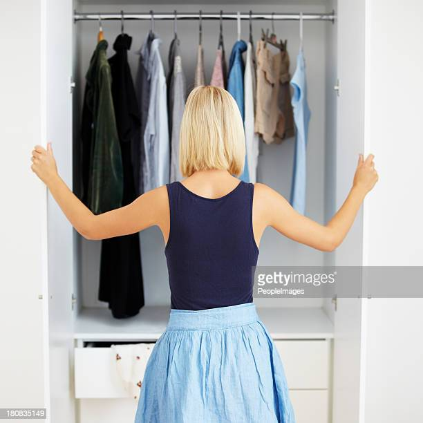 Closet full of choices