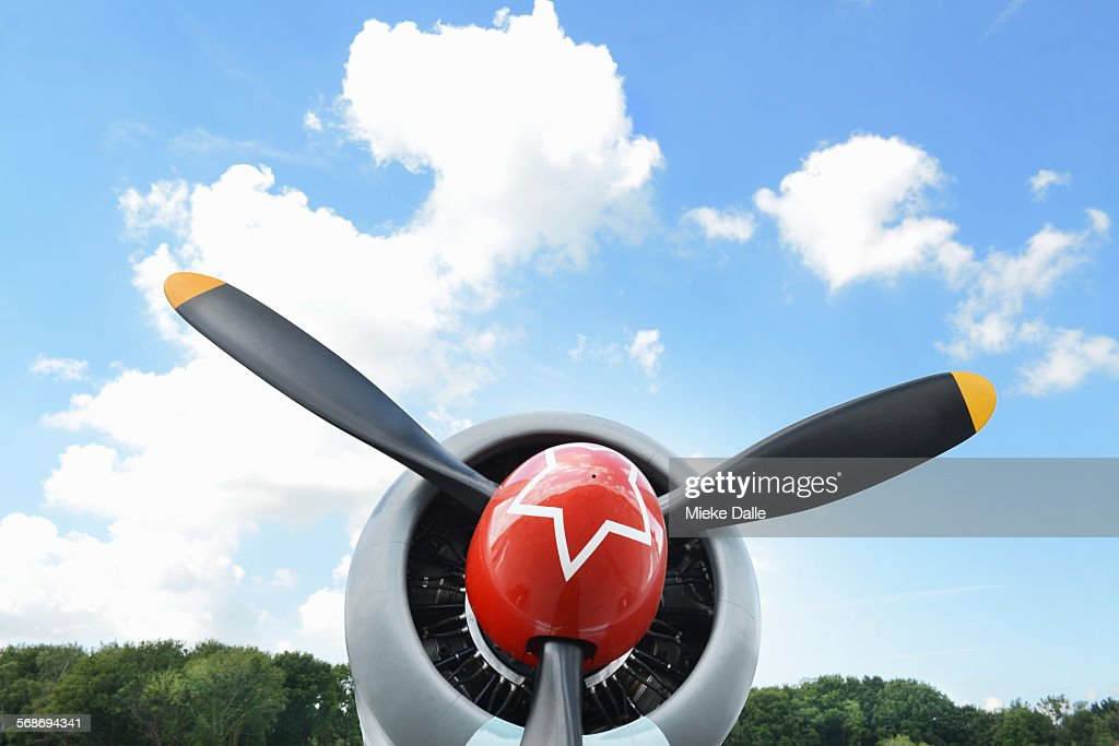 Close-up airforce plane : Foto de stock